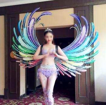 Catwalk feather Wings Colored  Angel Elves