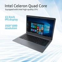 Jumper EZbook X3 ноутбук , четырёхъядерный, 8 Гб 128 ГБ , экран 13,3 дюймов