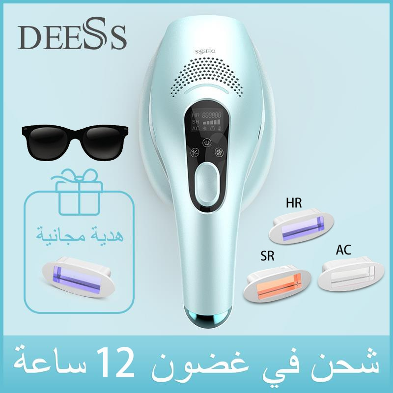 DEESS GP590 Laser Epilator Hair Removal Permanent 0.9s Painless Cool Ipl Laser Hair Removal Machine