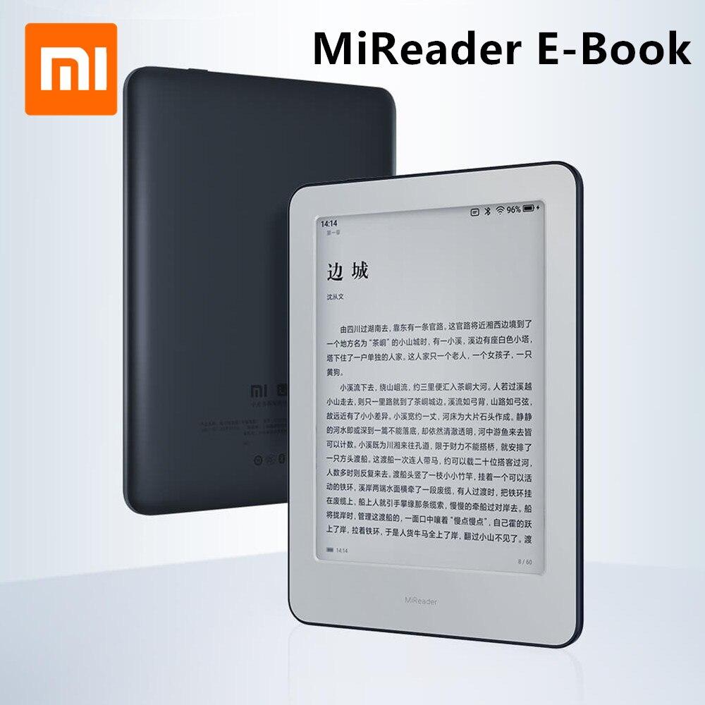 Xiaomi MiReader e-book Intelligente Büro Artefakt Meter home e-book Reader touch tinte Bildschirm Reader WiFi 16GB Speicher Vorderseite rückseite