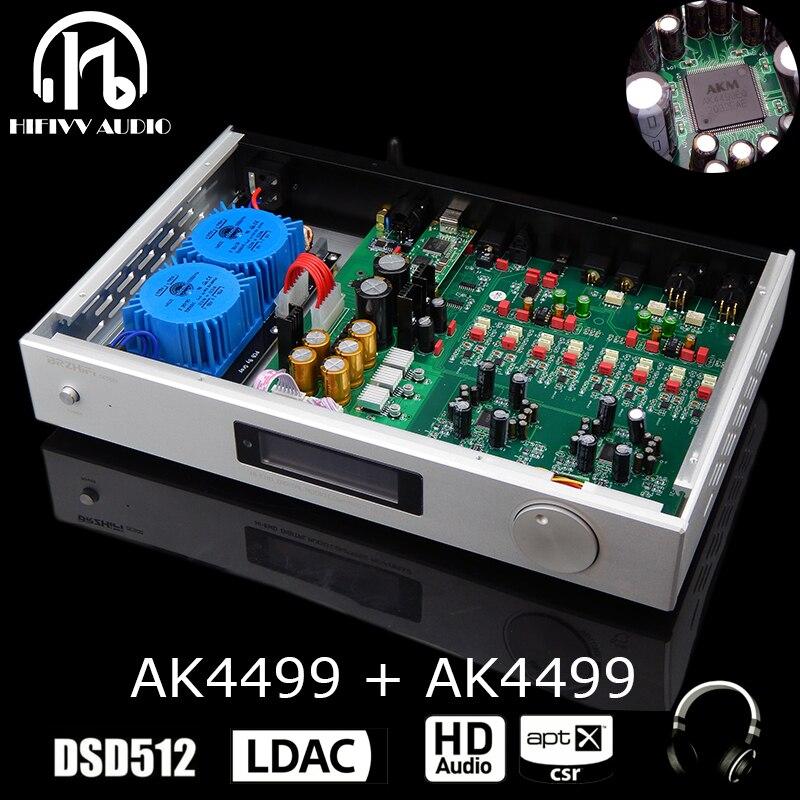 HiEnd AK4499EQ * 2 قطعة متوافقة مع بلوتوث QCC5125 DAC من الجيل الرائد DAC APTX-HD LDAC APTX التكيف متوازنة الولايات المتحدة فك