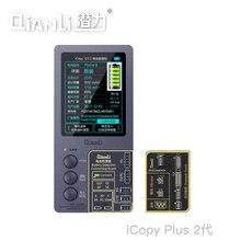 Qianli iCopy Plus2 para iphone5/5S/6/6S/7/8/X/ XS batería de examen de visualización de tono verdadero
