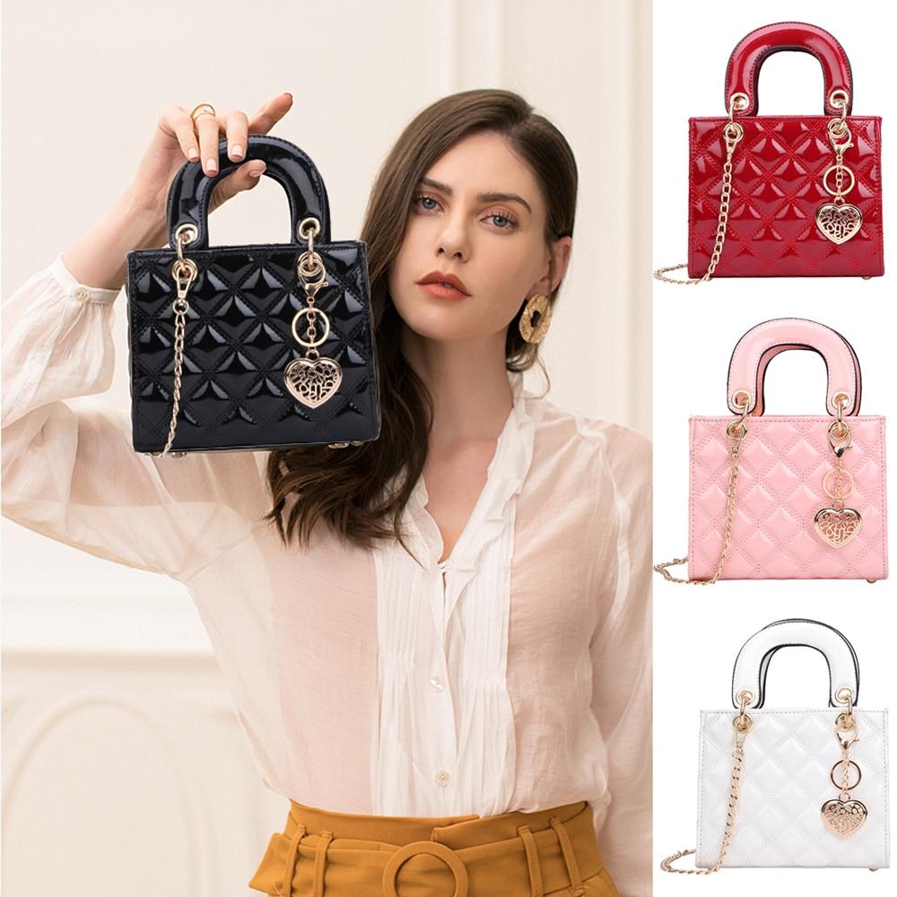 Luxury Bags For Women Plaid Jelly Bag Candy Color Flap Mini Designed Ladies Shoulder Chain Tote Messenger Crossbody HandBag 2020