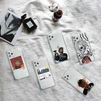 juice wrld lucid dream rapper phone case transparent for iphone 7 8 11 12 se 2020 mini pro x xs xr max plus