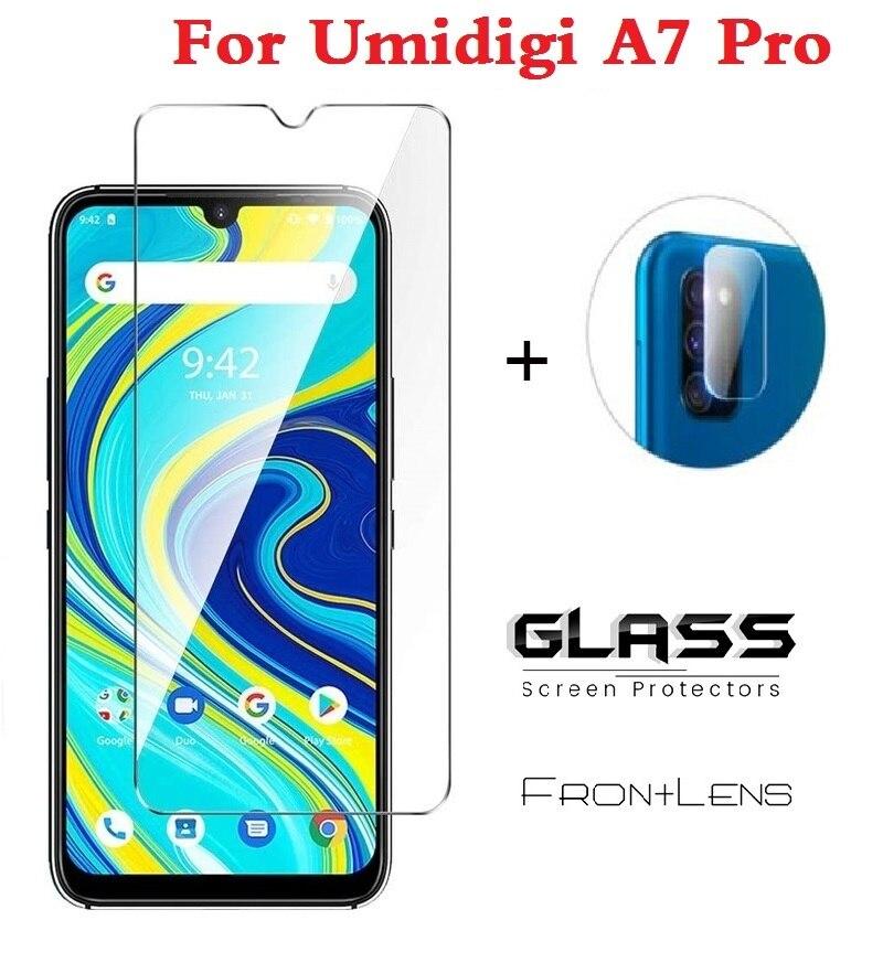 Camera Lens Protective Glass for Umidigi A7 A7s Pro Soft Tempered Glass Len Screen Protector For Umidigi A7 A 7