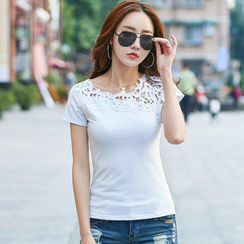 2020 czarna koszulka damska odzież 2019 modna koszulka moda z najwyższej półki bawełniana koszulka damska