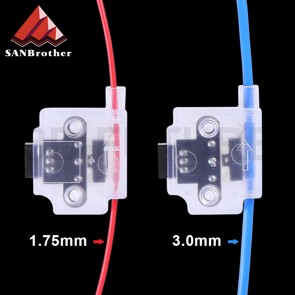 3D Printer Filament Break Detection Module With 1M Cable Run-out Sensor Material Runout Detector For