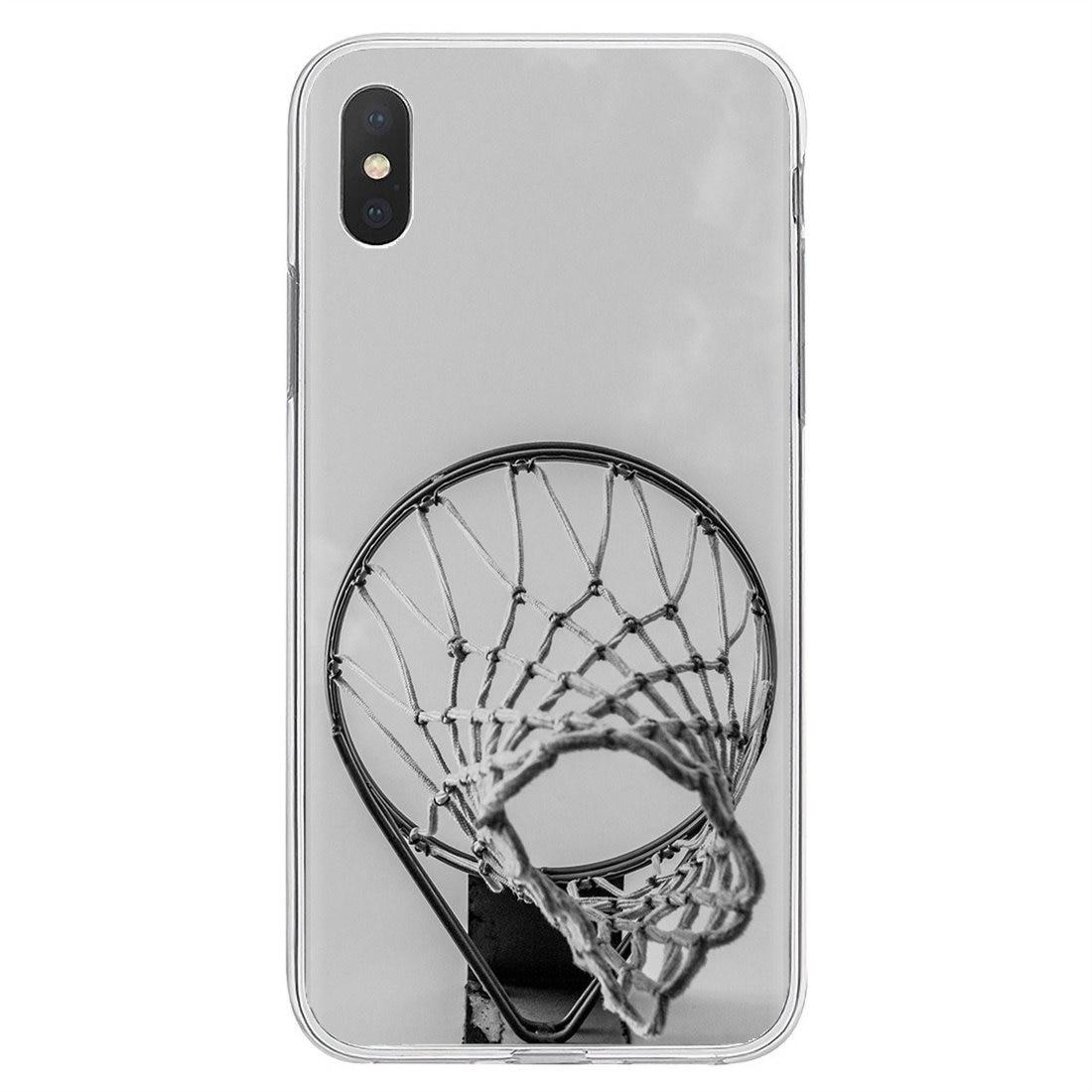 Funda de teléfono de silicona personalizada de baloncesto Space Dunk fire para Huawei G7 G8 P7 P8 P9 P10 P20 P30 Lite Mini Pro P Smart 2017 2018 2019