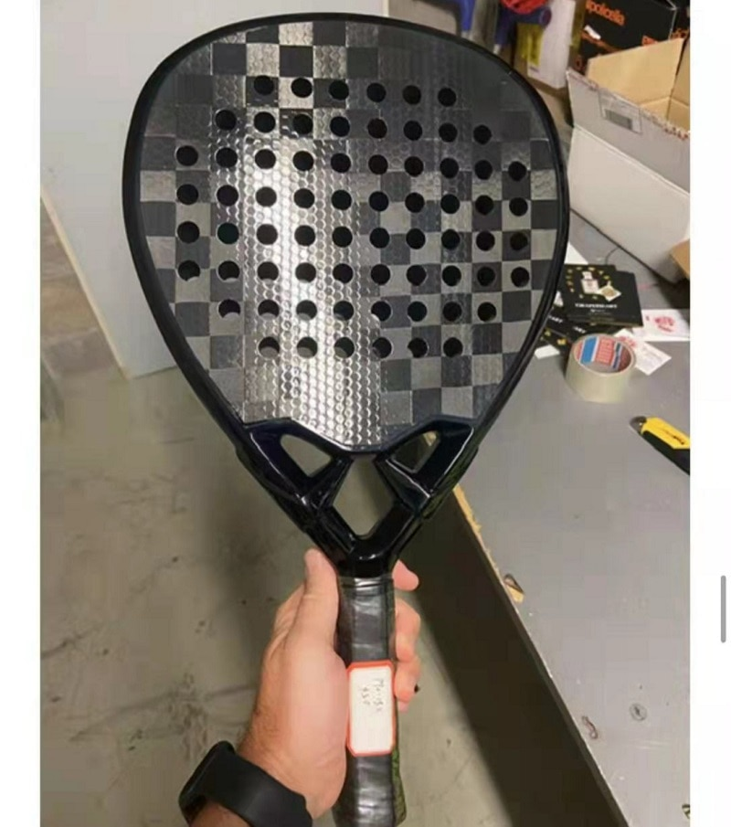 Camwin 18K Carbon Professional Paddle Racket Soft EVA Face Tennis Raqueta With Padel Racket Bag Training Accessories 2021 New