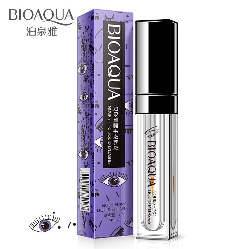 BIOAQUA Eyelash Growth Treatments Makeup Enhancer 7 Days Longer Thicker Eyelashes Eyes Care Serum