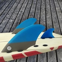 double tabs surfboard fin keel fins with knubster centre kneel fin honeycomb fibreglass surf fin quilhas surf double takeel fins