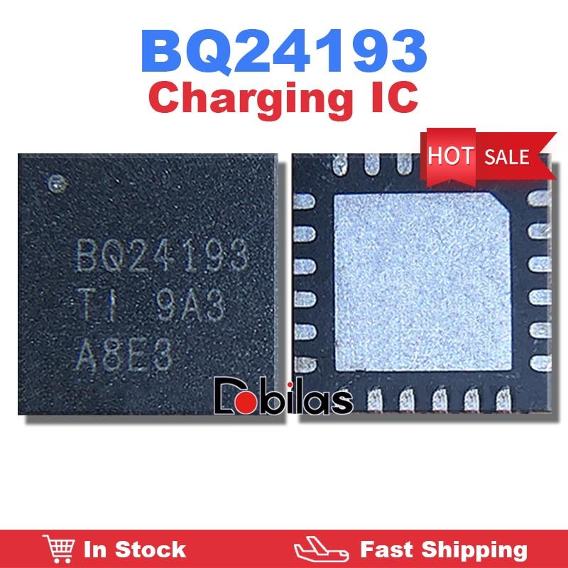 5Pcs/Lot BQ24193 BQ24193RGER QFN-24 Charging IC Mobile Phone Integrated Circuits Replacement Parts C