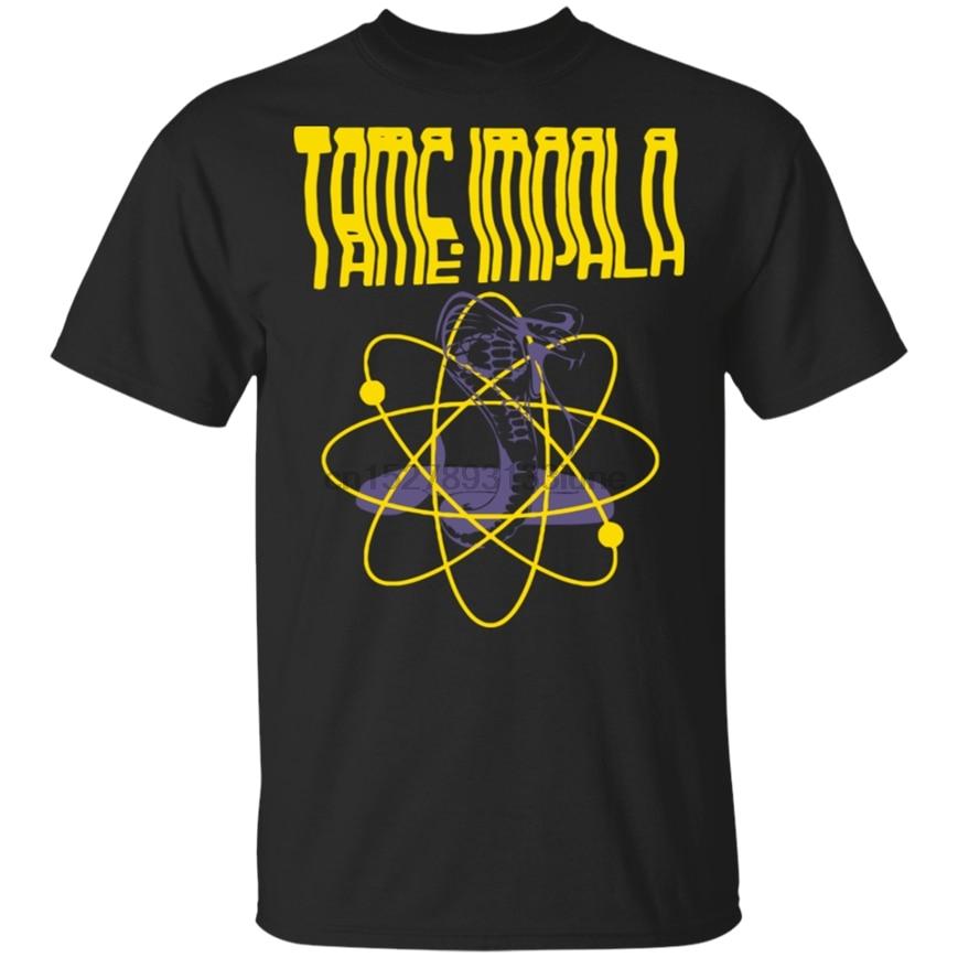 Camiseta con estampado de Impala Rock para Mujer, camisa de color negro,...