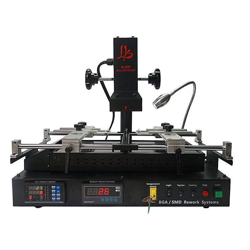 LY IR6500 IR8500 آلة إصلاح اللوحة الأم, الأشعة تحت الحمراء IR BGA محطة إصلاح لحام reballing PCB رقائق
