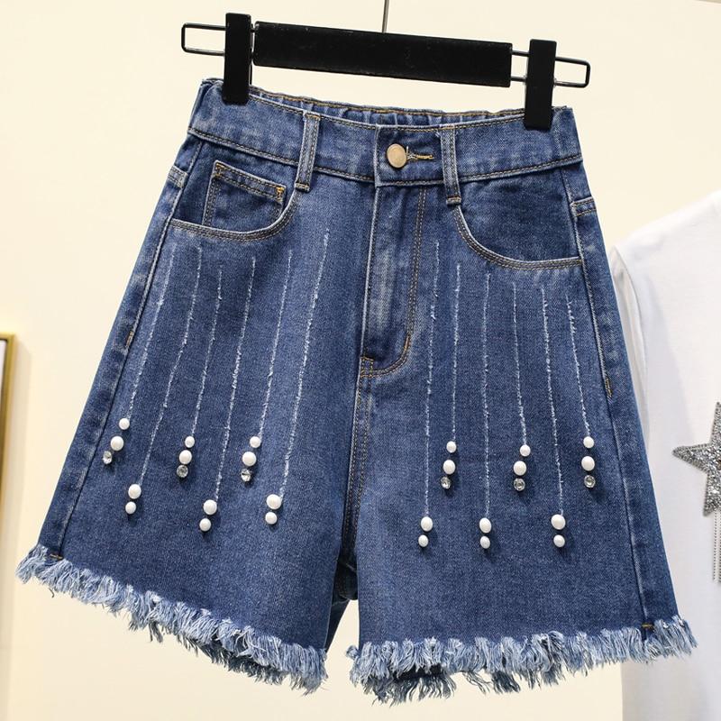 hairy maclary scattercat Hairy A-word wide-legged denim shorts women's hot pants  baggy jeans women  pants women  jeans  woman shorts