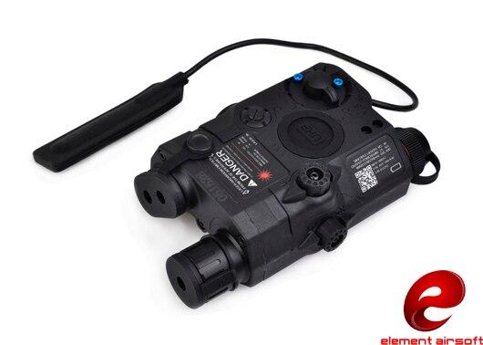 Z-TAC Elemento Natal desconto LA-5C PEQ 15 UHP Aparência Verde Dot Laser Noite Tiro Tático Lanterna EX419 BK