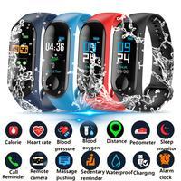 Смарт-часы мужские, многоцветные, шагомер, пульсометр, монитор кровяного давления, Спортивные Повседневные модные наручные часы с сенсорны...