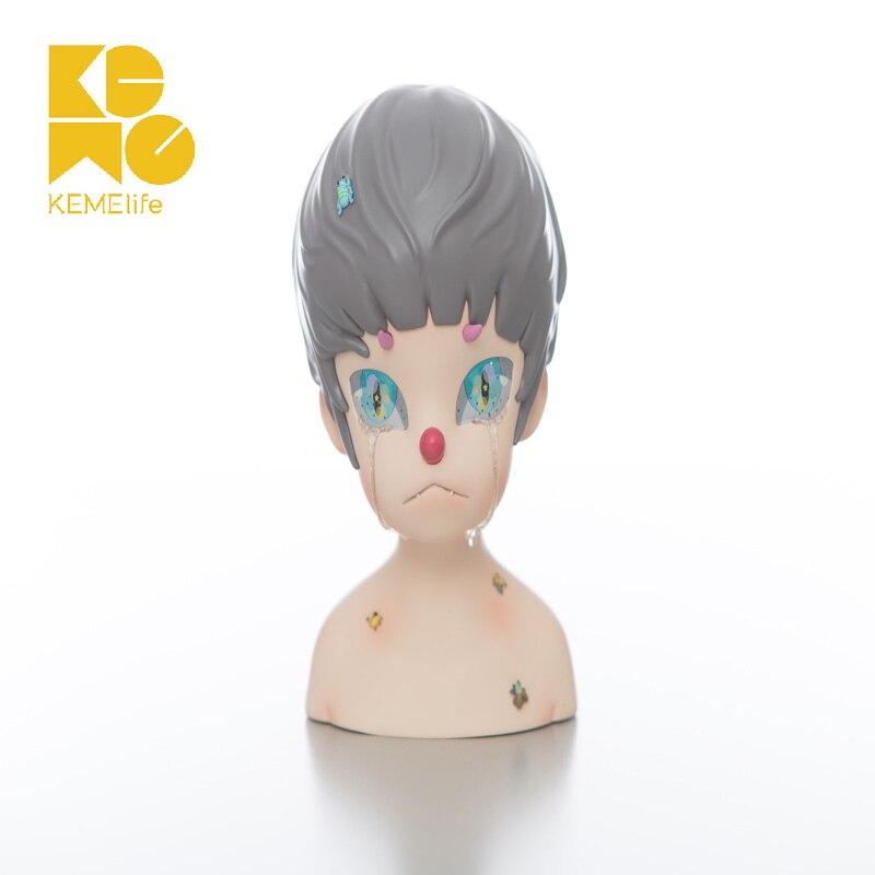 Kemelife-تمثال البكاء ، ديكور سطح المكتب ، صبي ، هدية عيد ميلاد ، ألعاب فنية