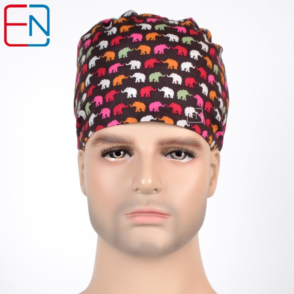 Gorras de fregado Hennar, cómodas gorras ajustables libremente, máscara con banda para el sudor, gorras de fregado de algodón 100%