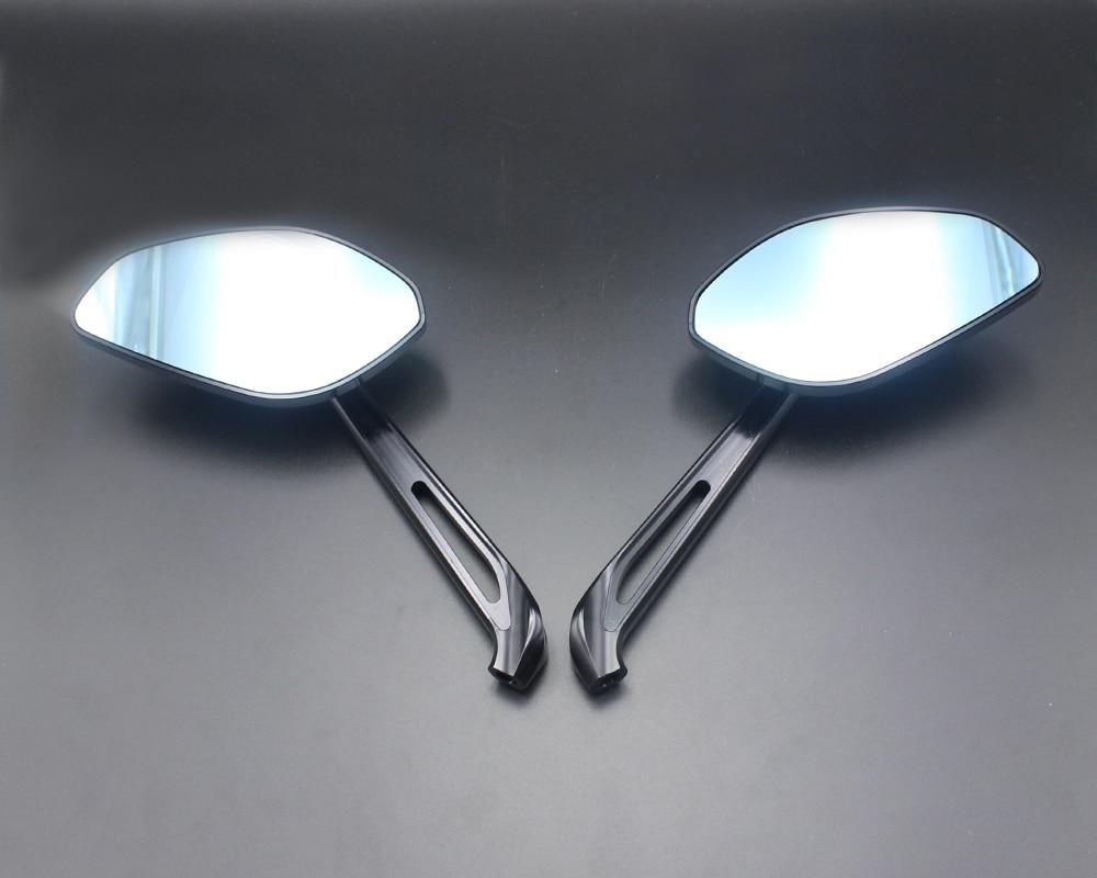 نك قطع الألومنيوم دراجة نارية مرآة الرؤية الخلفية الحال بالنسبة دوكاتي Xdiavel Xdiacel-S الوحش 1200 S/R