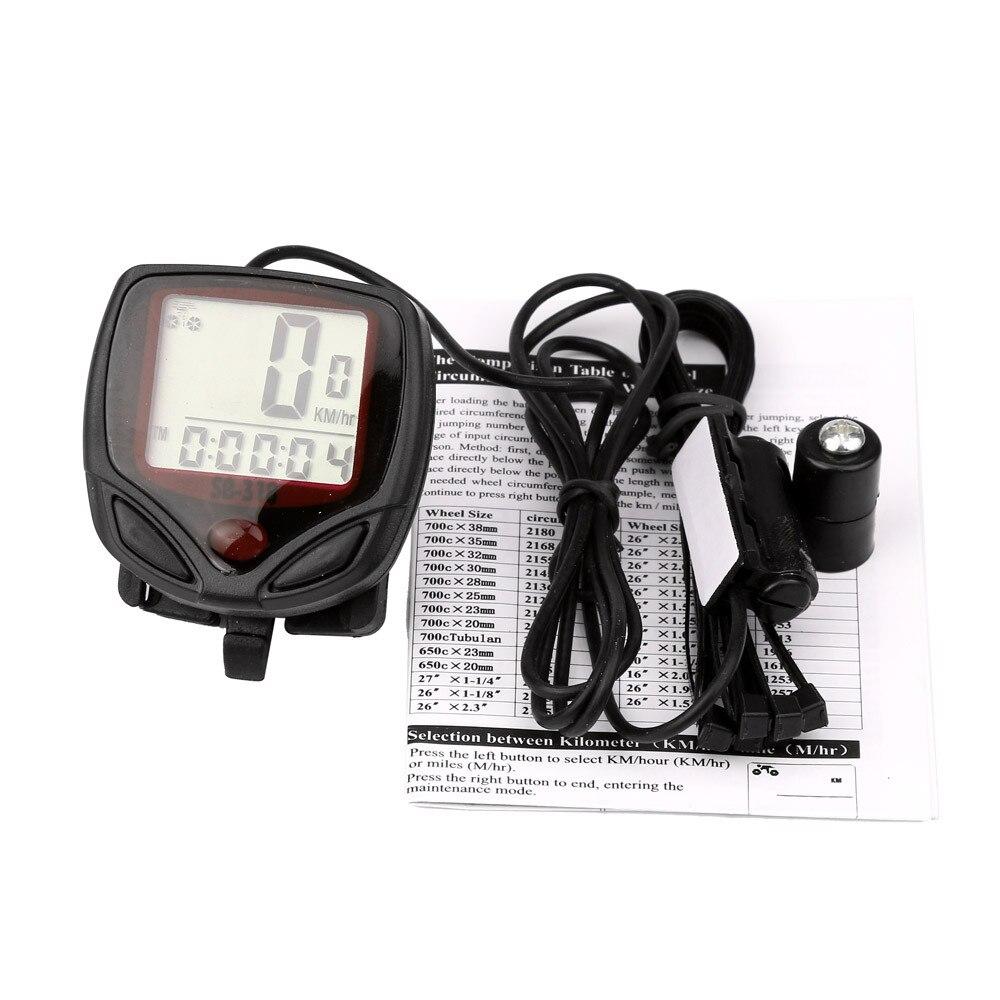 Velocímetro Digital Para Bicicleta, pantalla Lcd a prueba de agua, odómetro, Accesorios...