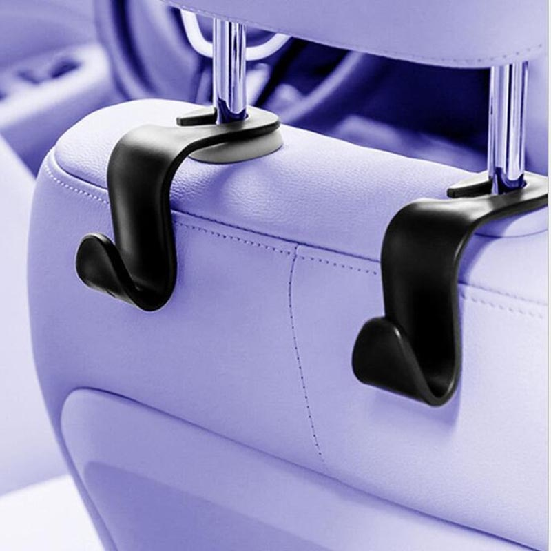 50 Uds alta calidad práctico coche asiento trasero reposacabezas bolsa de almacenamiento colgante Bolsa de almacenamiento de artículos diversos bolso durable caliente