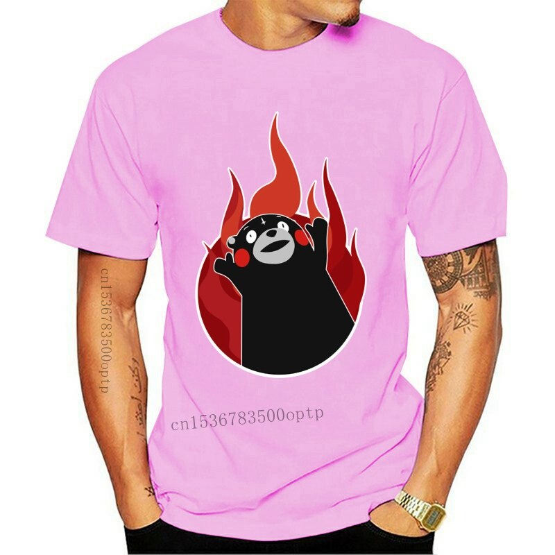 New Clothing T shirt Kumamon For the Glory Stylish TShirts Male Short SLeeve Clothes Low Price Man Fiyat Tee Shirts