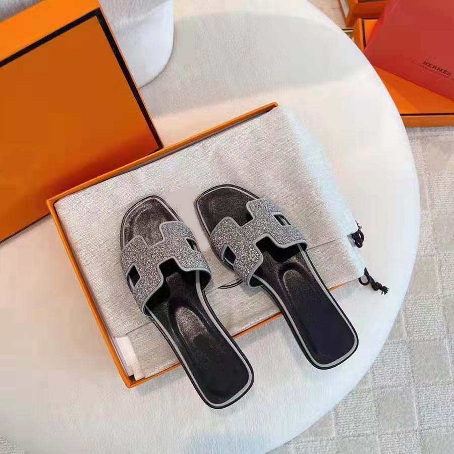 Фото - Дизайнерские стильные сандалии, женские роскошные брендовые кожаные пляжные туфли высокого качества, женская летняя обувь роскошные пляжные отели