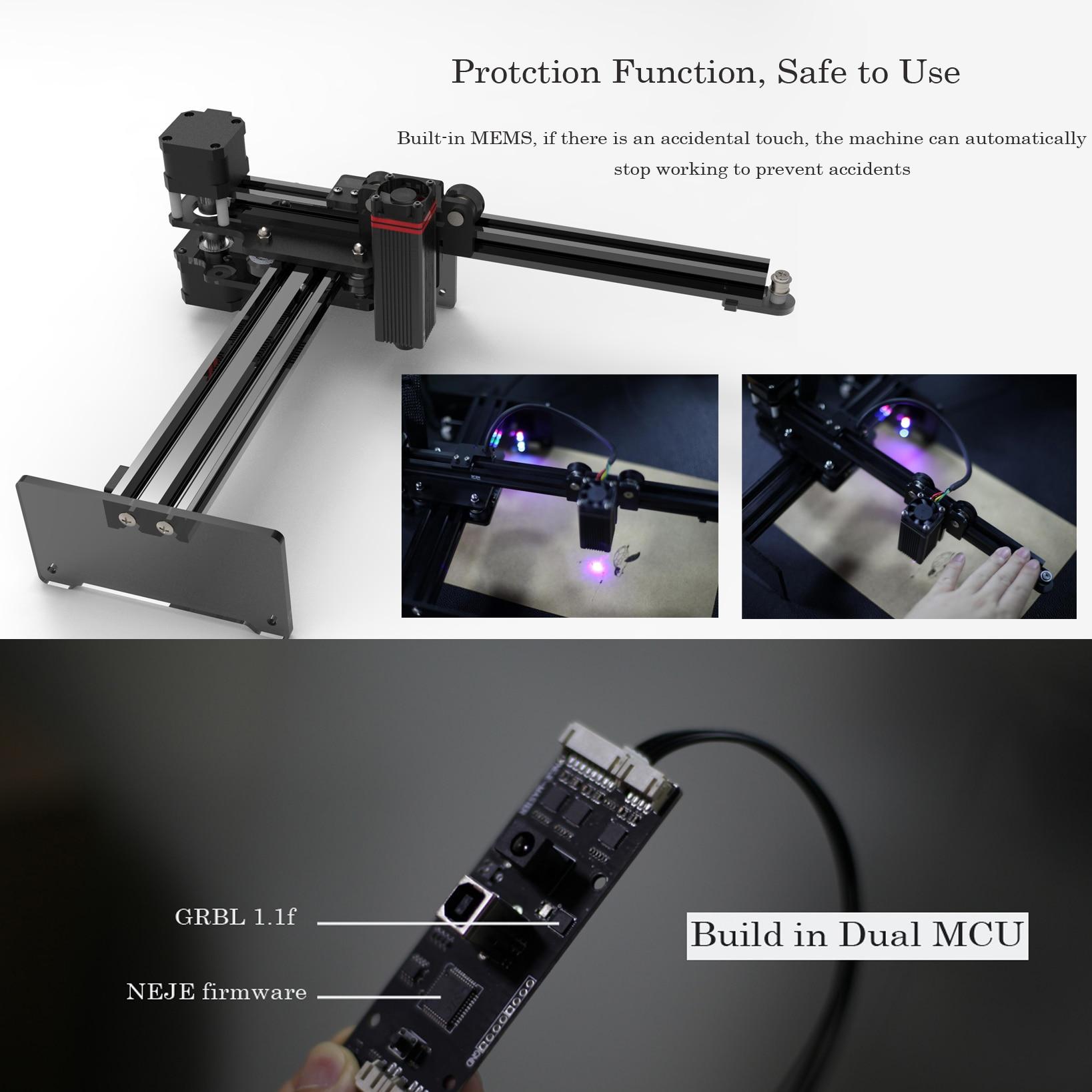 20W desktop lasergraveerder en -snijder - lasergravure en snijmachine - Houtbewerkingsmachines - Foto 4