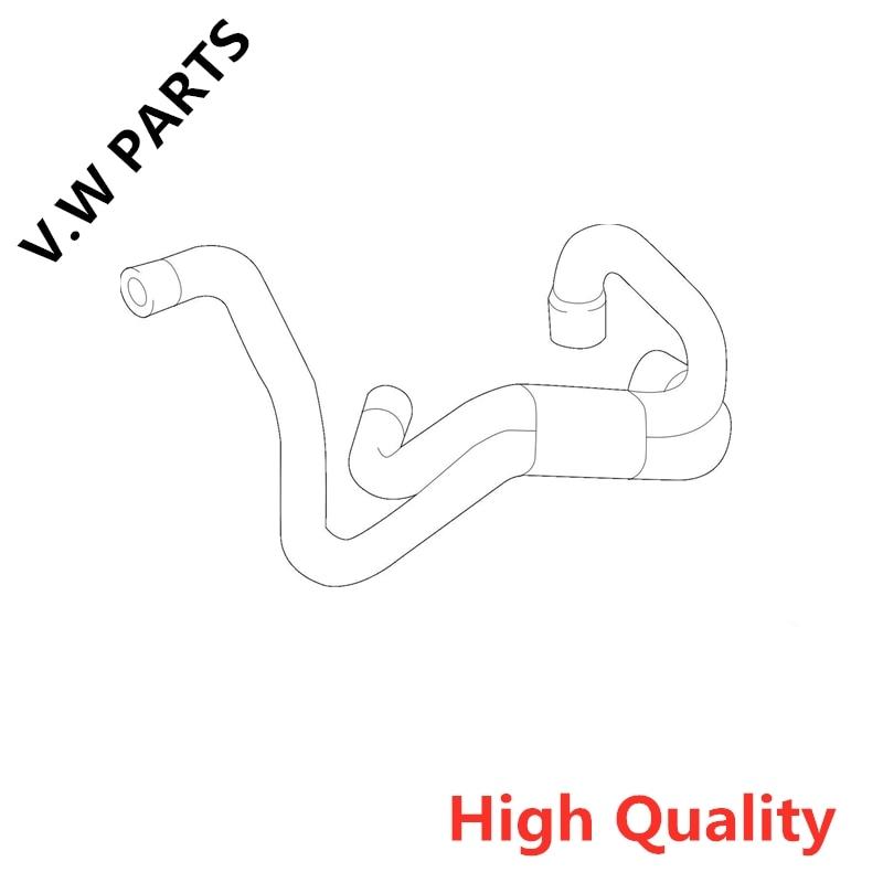 New Water Pump Hose  For A udi 12-17 A5 Quattro 2.0L-L4 OEM06H121057BA  06H 121 057 BA