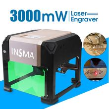 Machine de gravure Laser à usage domestique, logo de graveur Laser en 3000 mW logo de bricolage imprimante de marque Laser pour gravure 80x80mm