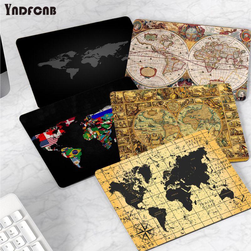 YNDFCNB коврик для мыши с картой мира, игровые коврики или Overwatchs, резиновый ПК, компьютерный игровой коврик для мыши Коврик для мыши
