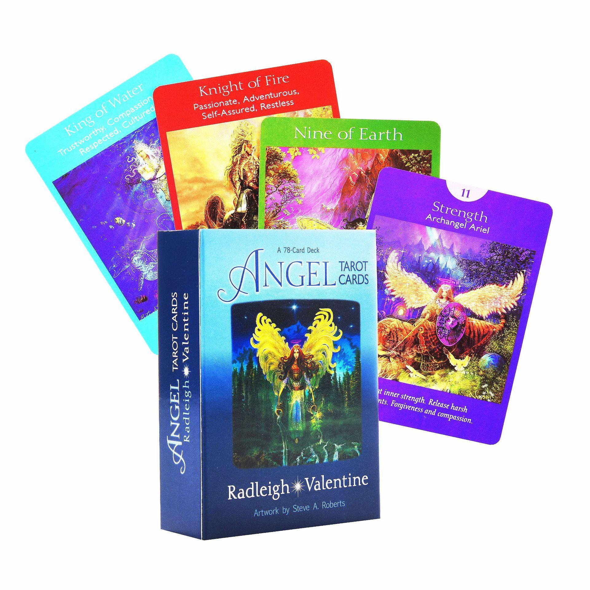 78 шт. набор коробок для карт Angel Tarot настольная игра на английском языке игральные карты для вечеринок развлекательные игры карты