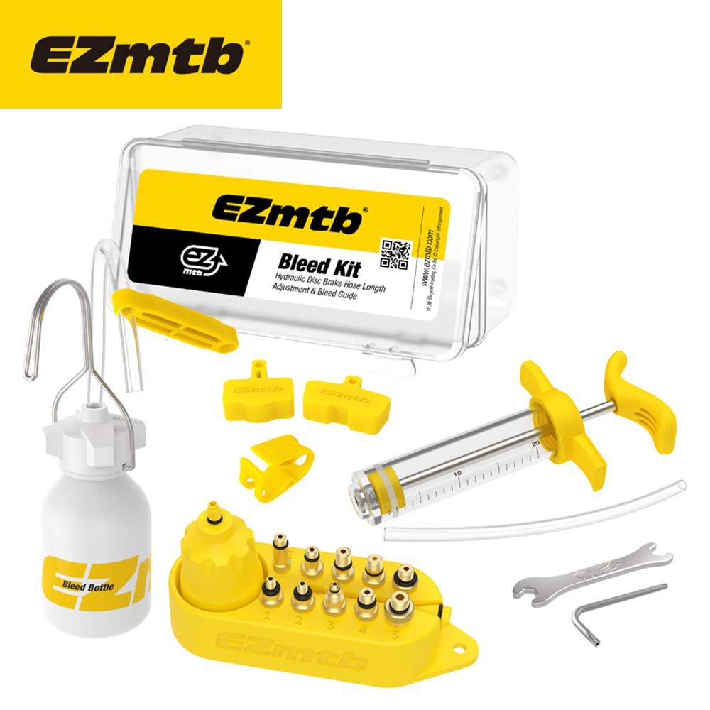 Ezmtb bleed kit Hydraulic dics brake Advanced Version for shimano&Magura&hope&tektro&sram&avid&formula&hayes bicycle brake