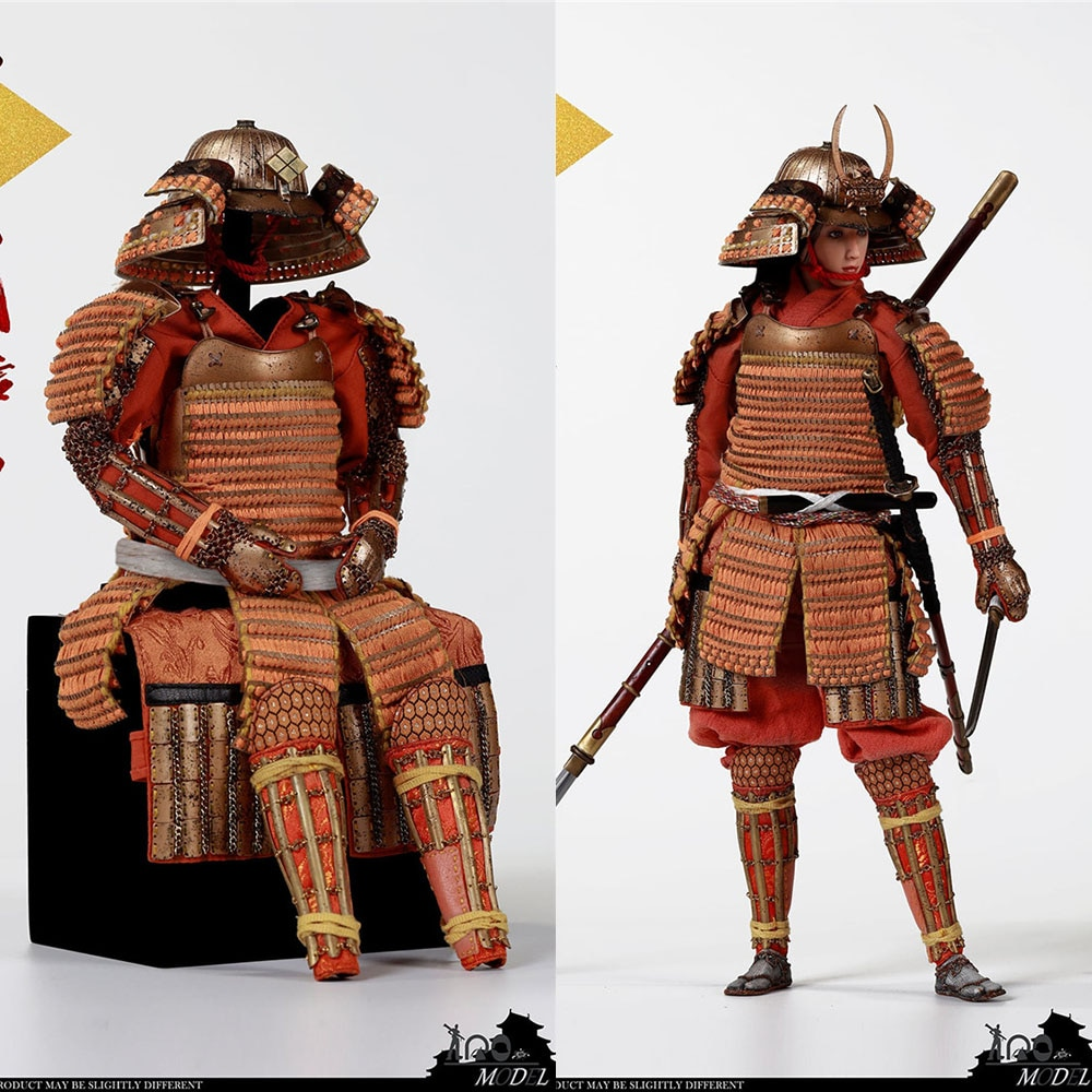 para a colecao iqomodel 91005b 1 6 escala takeda shingen armadura de bronze feminino
