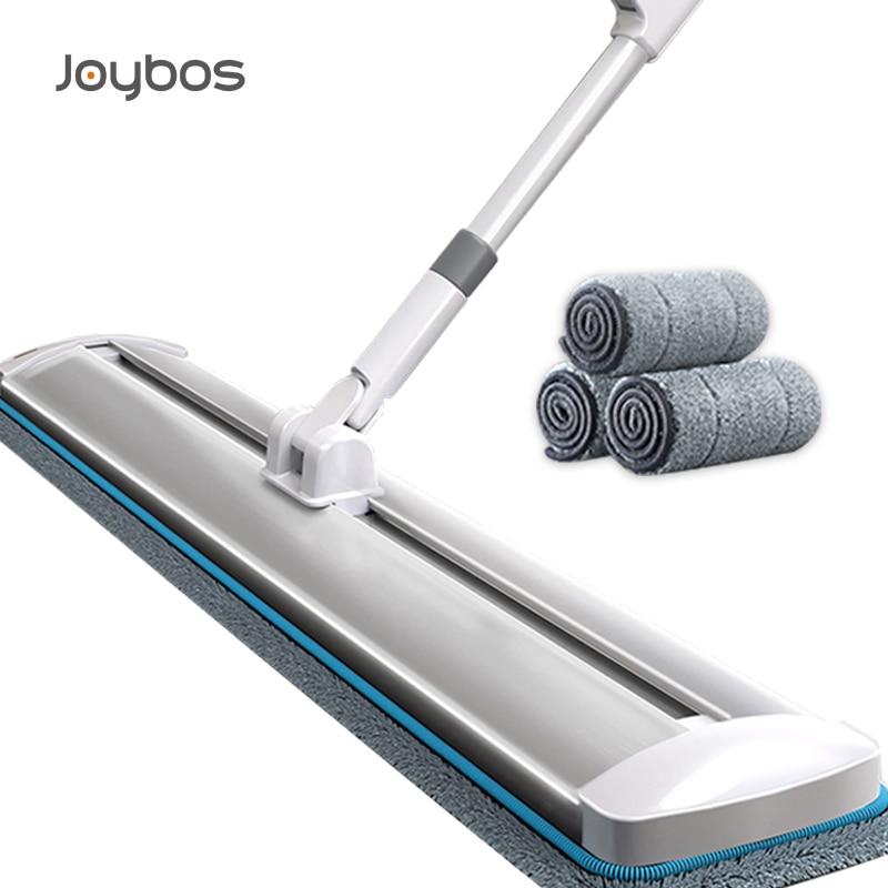 Joybos ممسحة ناعمة كبيرة قائمة بذاتها الشريحة ممسحة الارض رفيعة الاسفنج الرطب والجاف ممسحة لتنظيف الأرضيات أدوات تنظيف المنزل