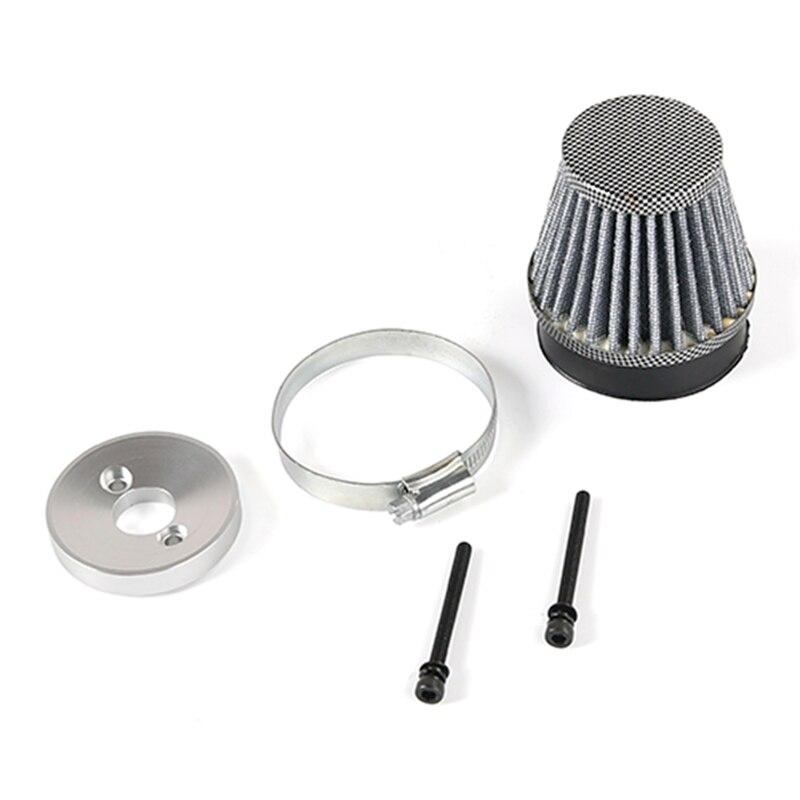 Filtre à Air en métal pour Zenoah CY, pièces de voiture Rc, modèles 23Cc 26Cc 29Cc 30,5 cc 32Cc 45cc, pour 1/5 HPI Km Baja 5B 5T 5SC