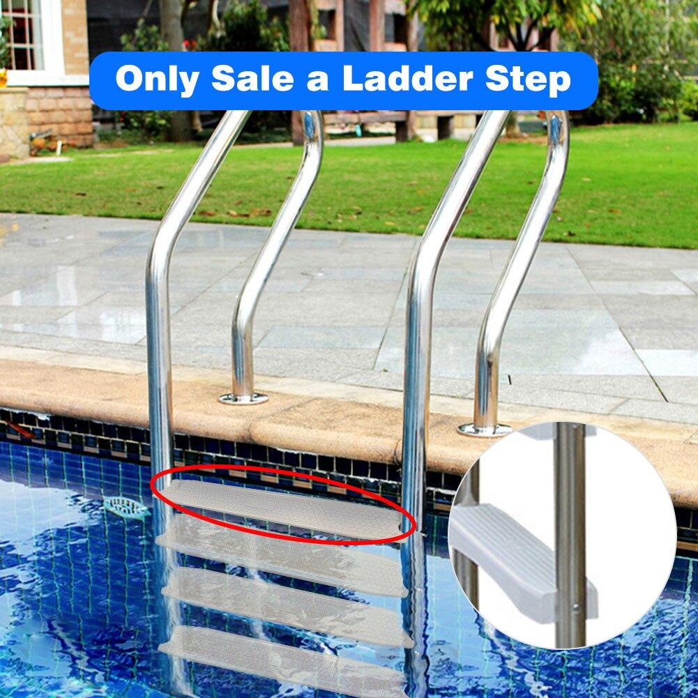 1 шт. лестница для бассейна, сменные лестничные ступени с 2 винтами, нескользящая лестница, нескользящая педаль для бассейна