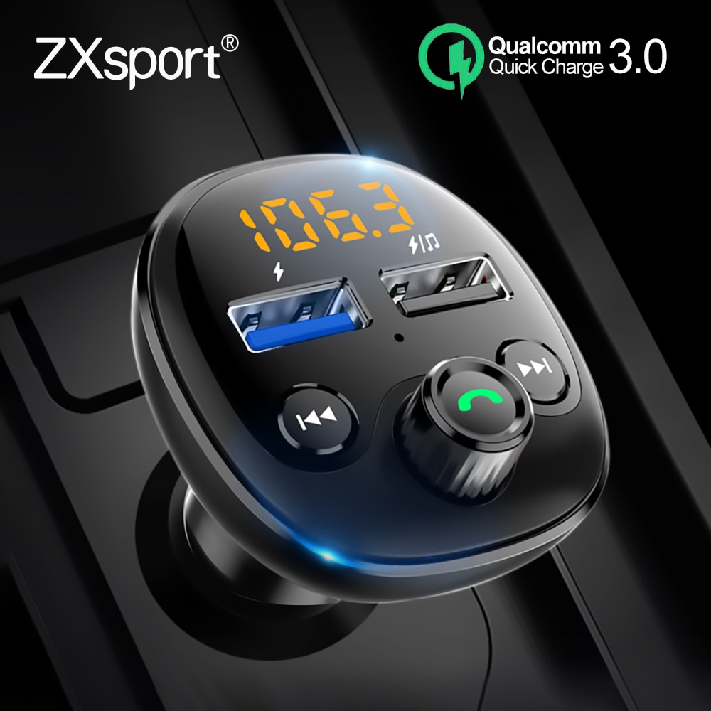 FM Transmitter Auto MP3 Player Bluetooth Quick Charge 3,0 QC Für AUDI A4 B5 B6 B7 B8 B9 A5 A6 c5 C6 C7 A7 A8 Q3 Q5 Q7 A1 A3 V8 8V