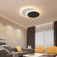 Plafond moderne à LEDs lampe de chevet en aluminium plafonnier luminaires AC85-265V E27 led plafonniers luminaria plafonniers