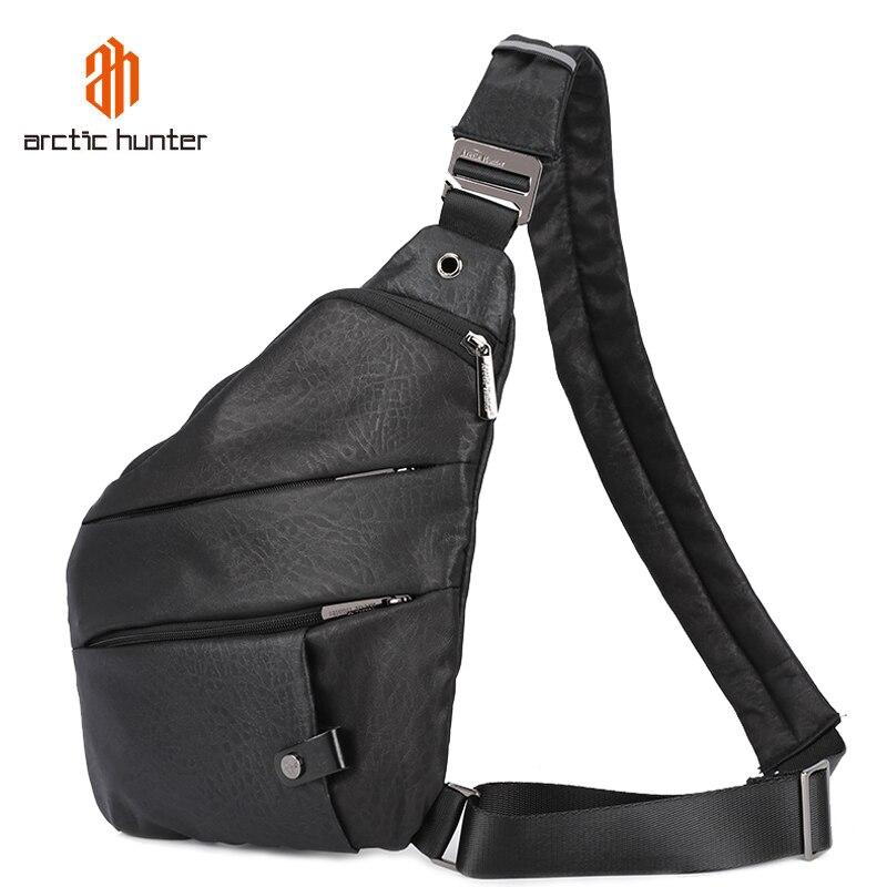 ARCTIC HUNTER мужская сумка через плечо Скрытая нагрудная сумка для мужчин ретро-чехол крутая мотоциклетная сумка на ремне поясная сумка