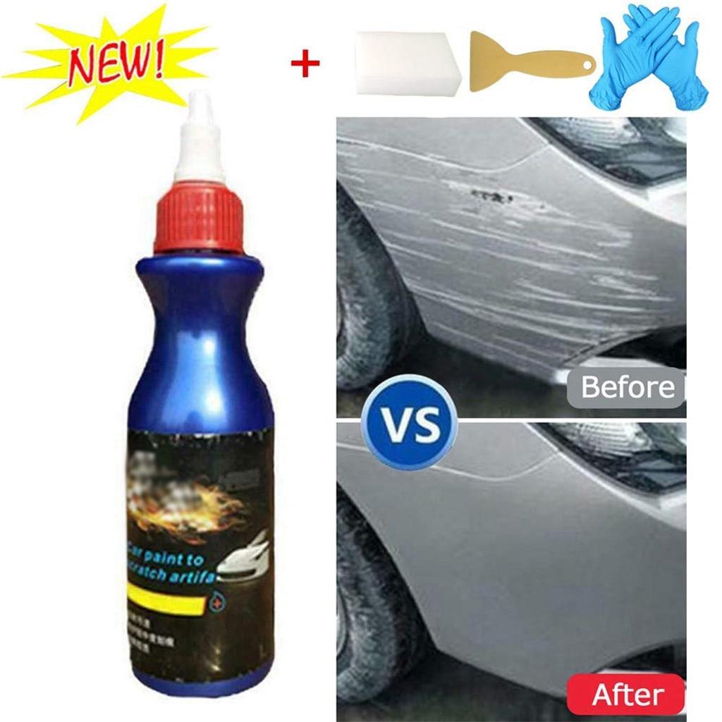 Reparación de Pintura de automóviles, líquido para coche, líquido, remueve la luz, reparador para arañazos, General para arañazos en pintura, aumenta el brillo de la pintura, artefacto, 4 paquetes