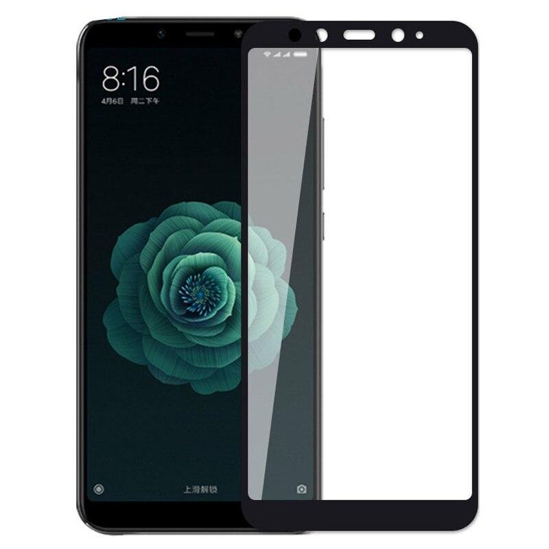 3D закаленное стекло для Xiaomi Mi A2 Lite Полное покрытие 9H защитная пленка Защита экрана для Xiaomi Mi A2