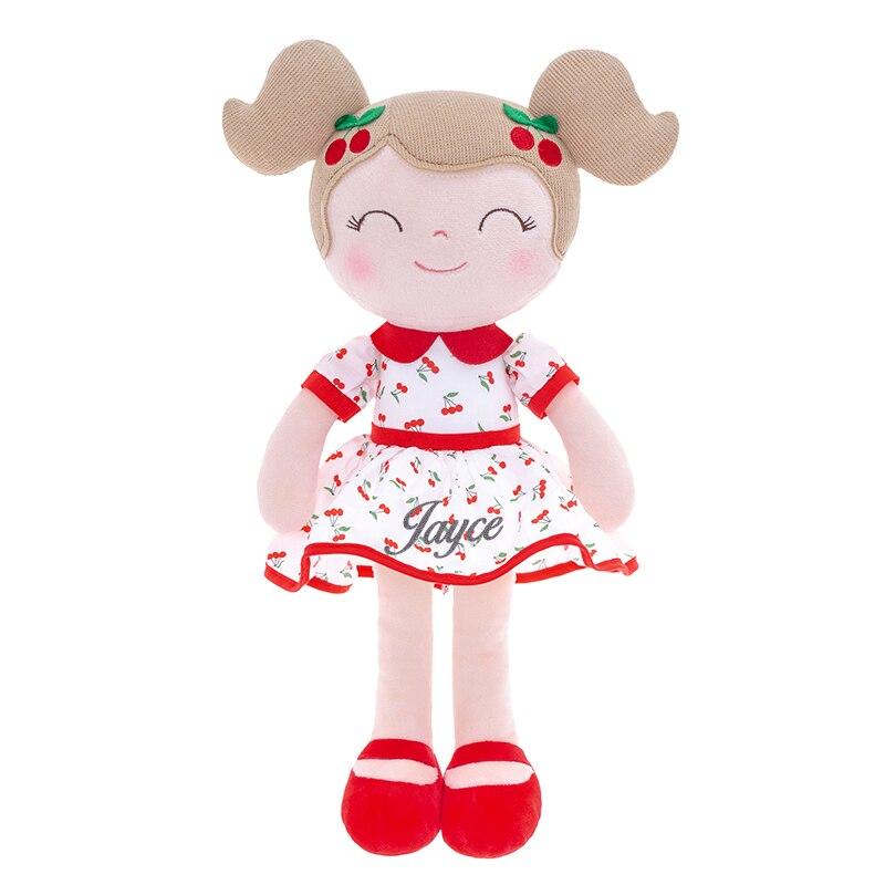 Personalized Gloveleya Plush Doll Cherry Girl Dolls Cloth Toys Plush Gifts Toys for Baby Girl Customization Dolls