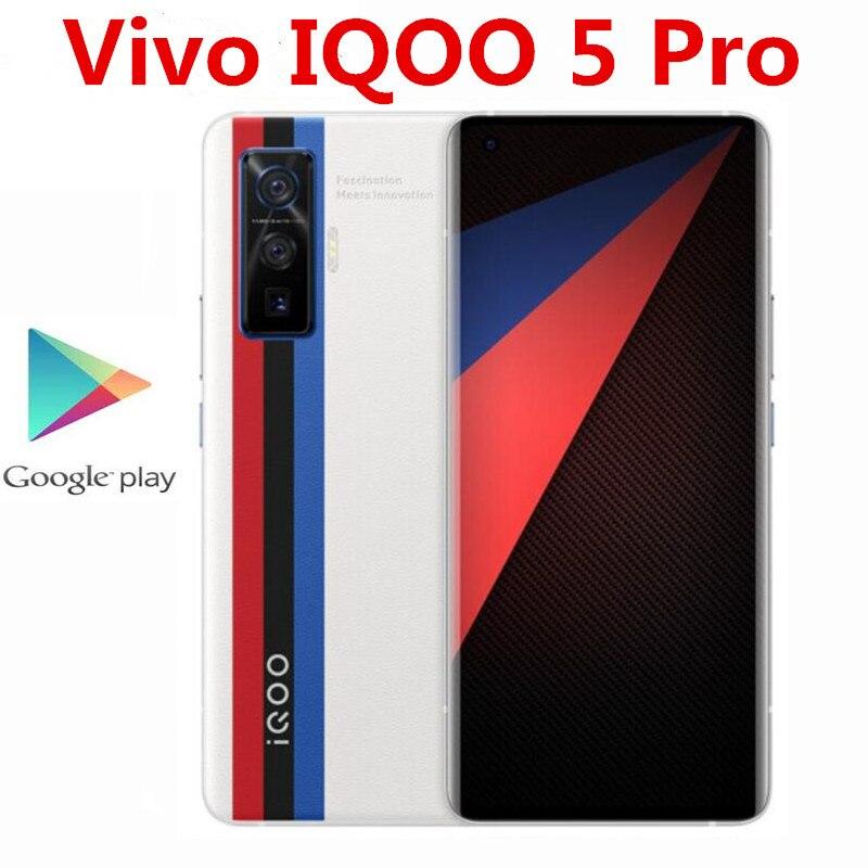 "Original Vivo IQOO 5 Pro 5G Handy 50,0 MP + 13,0 MP + 8,0 MP + 16,0 MP 60X ZOOM 120W Super Ladegerät Snapdragon 865 6.56 ""120HZ OTA"