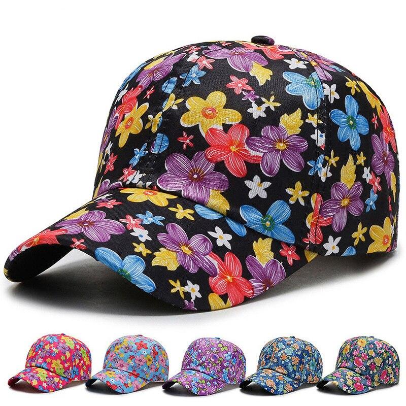 2021New модные бейсболки для мужчин и женщин летнее платье с цветочным узором в стиле «граффити» капота Хлопковые бейсболки шапки в стиле хип-х...