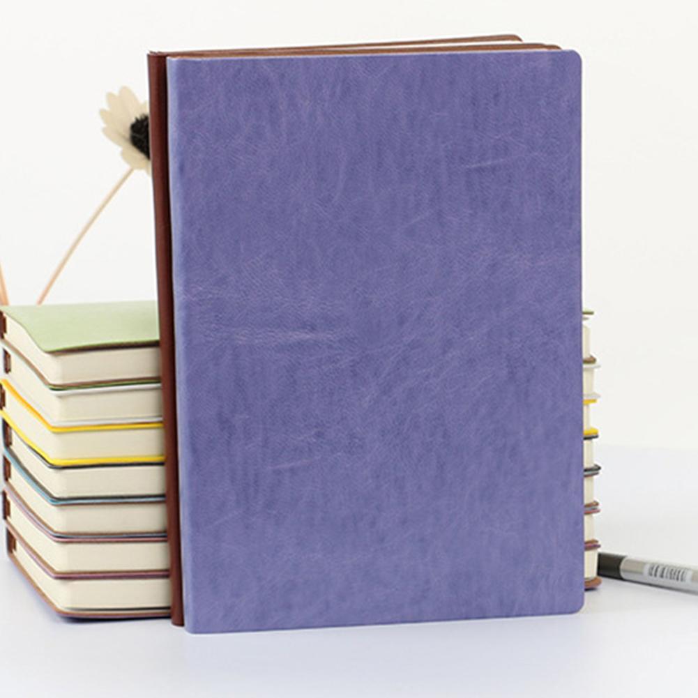 А5 искусственная кожа бизнес подкладка блокнот эскиз журнал с ленточная Закладка