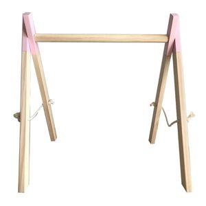 Скандинавские простые деревянные украшения для детской комнаты, стойка для фитнеса для новорожденных детей, R9JD