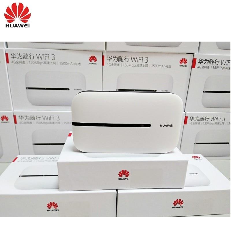 100pcs New model HUAWEI 4G router E5576-856 unlocked Cat4 150Mbps hotspot mobile pocket wifi PK E5573 wireless mifi