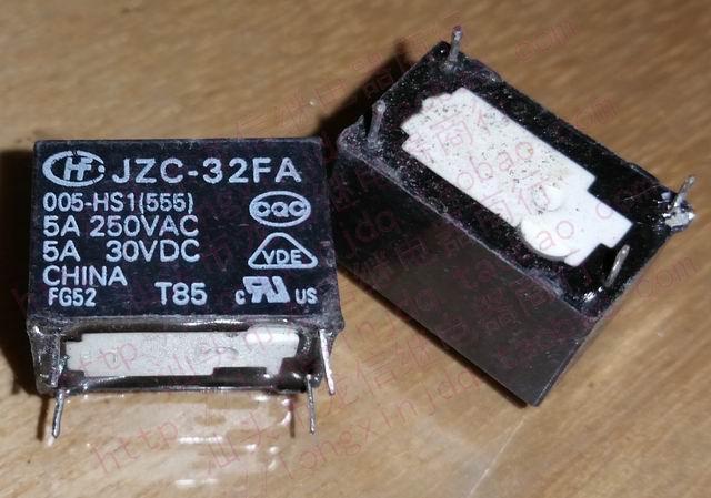 Relé jzc-32fa 005-hs1 555 012-hs1/024-hsl1 555 JV-KT 5/12/24V